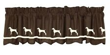 German Shorthaired Pointer Dog  Window Valance *Your Choice of Colors* Original