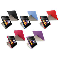 """rooCASE Polycarbonate Folding Origami SlimShell Case Cover for 7"""" Kindle Fire HD"""