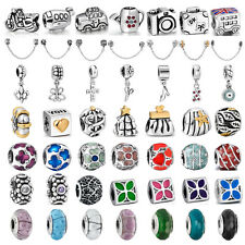 Hot New European charm bead Fit For UK sterling silver Bracelet Bangle Necklace
