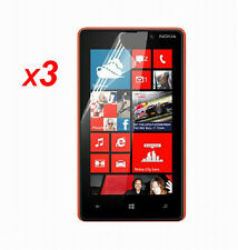 3x Anti-Glare Matte/ HD Clear Screen Protector Guard Film for Nokia Lumia 820