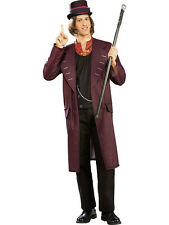 Adult Licensed Willy Wonka Charlie Chocolate Factory Fancy Dress Costume BN