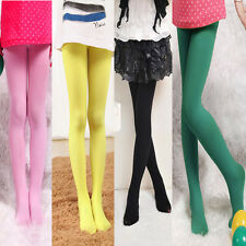 HOT GIRLS KIDS TIGHTS PANTYHOSE HOSIERY STOCKINGS OPAQUE BALLET DANCE