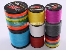 4 Strands Colors PE Dyneema Fishing Braid Spectra Line 500M 1000M 547/1094 Yards