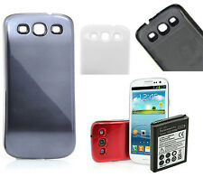 4500mAh Extended Battery + Case Cover for Samsung Galaxy S3 i9300 i9305 T999