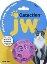 JW Pet Cataction RATTLE BALL Cat Toy COLORS MAY VARY