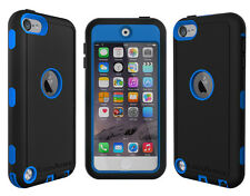 New! RANGER DEFENDER Case & Belt Clip for iPod Touch 5TH Generation Black / Red