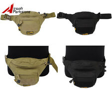 New LooYoo Tactical Military Outdoor 1050D Utility Triangle Waist Pack Pouch Bag