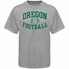Oregon Ducks Ash Reversal Football T-shirt - College