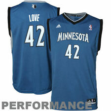 Kevin Love Minnesota Timberwolves adidas Youth Replica Road Jersey - Slate Blue