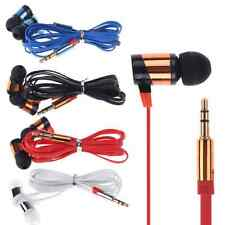 for iPhone iPod Samsung PC 3.5mm Stereo In Ear Headphone Earphone Headset Earbud