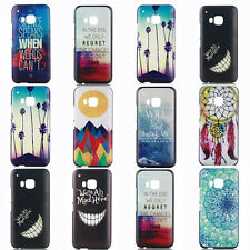 Hot Fashion Patterned Hard PC Back Case Cover For HTC One M9