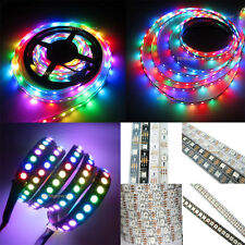 5V WS2812B 5050 RGB LED Strip 5M 150 300 SMD 144 LED/M Individual Addressable