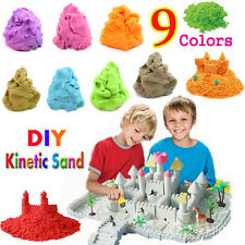 DIY Sand - Motion Sand - Magic Sand Funny Play for Kids Crafts 9 Colors HOTSALE