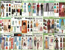 Simplicity Sewing Pattern Misses Plus Size Skirts Pants You Pick