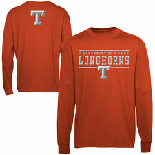 Texas Longhorns Lasting Strength Long Sleeve T-Shirt - Burnt Orange
