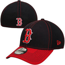 New Era Boston Red Sox Neo Flex Hat - Navy Blue/Red