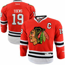 Jonathan Toews Chicago Blackhawks Reebok Youth Home Premier Jersey - Red - NHL