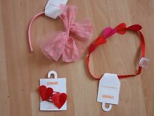NWT GIRLS GYMBOREE VALENTINES 2015 HAIR CLIPS, HEADBAND, U PICK!!