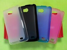 Anti-Slid Matte Translucent Soft Cover Case For Philips W732 Cell Phone