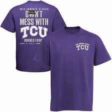 TCU Horned Frogs 2013 Cowboys Classic Cajun Don't Mess With TCU T-Shirt - Purple