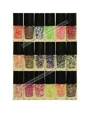 *ALMAR Nail Polish CHUNKY Confetti+Glitter+Tinsel+Diamond COLORS New *YOU CHOOSE