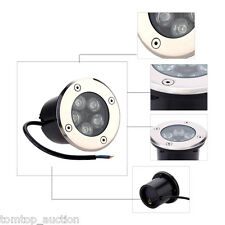 Outdoor 5W LED Light Garden Ground Path Floor Buried Yard Lamp Spot Light IP67