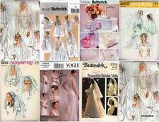 OOP Wedding and Bridal Accessories Misses Sewing Pattern You Pick