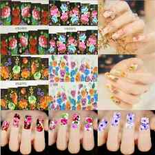 Special Chinese Style Flower DIY Nail Art Tips Stickers Decal Wraps Decorations