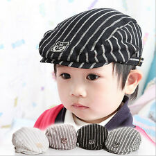 Lovey Stripe Casual Baby Boy&Girl's Hat Cap Kid Hats Photography Props Beret Cap