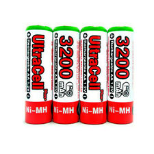10 AA NiMH HR6 3200mAh Rechargeable Battery UltraCell R
