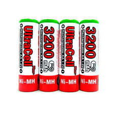12 AA NiMH HR6 3200mAh Rechargeable Battery UltraCell R