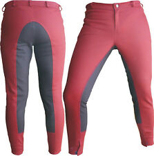 Dressage Horse Riding Pants Full Seat Breeches Fine Line Real Trainers Breech Nr