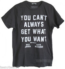 Junk Food The Rolling Stones You Can't Always Get What You Want t-shirt NEW SALE