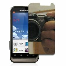 For Motorola DEFY XT XT557 Mirror Screen Protector LCD Phone Cover