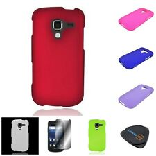 For Samsung EXHILARATE I577 Hard Rubberized Matte Phone Guard Cover Case