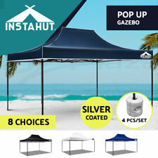 3x4.5M Outdoor Gazebo Pop Up Folding Marquee Party Stall Event Tent Canopy BBQ