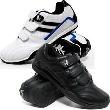Mens Running Trainers Flat Velcro Casual Walking Jogging Gym Sports Shoes Size