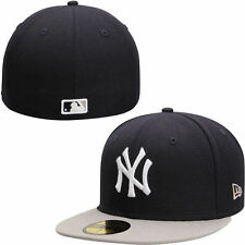 New York Yankees New Era 2-Tone Southpaw 59FIFTY Fitted Hat - Navy - MLB