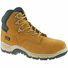 MAGNUM PRECISION SITEMASTER SAFETY BOOTS SIZE UK 7 - 13 MENS COMPOSITE WHEAT