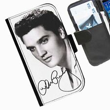 Elvis BWFACE Leather wallet phone case for iPhone Samsung Sony Huawei Blackberry