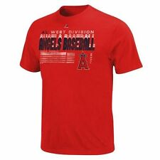 Majestic Los Angeles Angels of Anaheim Capacity to Win T-Shirt - Red