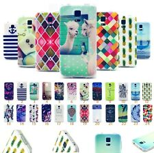 For Samsung Phones Cute Cartoon Painted Soft TPU Silicone Rubber Case Cover Skin