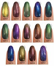 Bluesky 2015 QSF CHAMELEON CHROME RANGE UV/LED LED Soak Off Gel Nail Polish 8ml