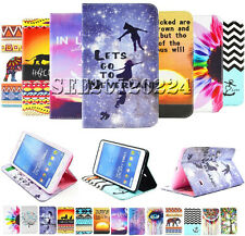 For Samsung Galaxy Tab Tablet Smart Cartoon Flip Leather Wallet Case Cover Stand