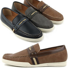 New Unique Casual Simple Loafers Slip On Sneakers Mens Shoes
