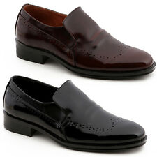New Trend Mooda Fashion Mens Slip On Dress Formal Leather Shoes