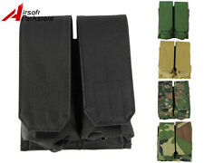 New Tactical Military Molle Belt 5.56 .223 Mag Double Magazine Pouch Holster Bag