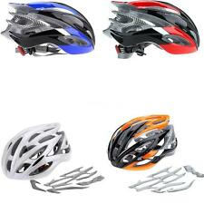Cycling MTB Mountain Bike Bicycle Helmet w Visor Adjustable Outdoor 26 Vents