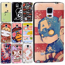 Pop 30 Patterns TPU Hybrid Skin Case Cover Shell for Samsung Galaxy Note 4 N9100