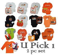 HALLOWEEN BODYSUIT BABY BIB 1st HOLIDAY CREEPER ROMPER CARTER KOALA KID BOY GIRL